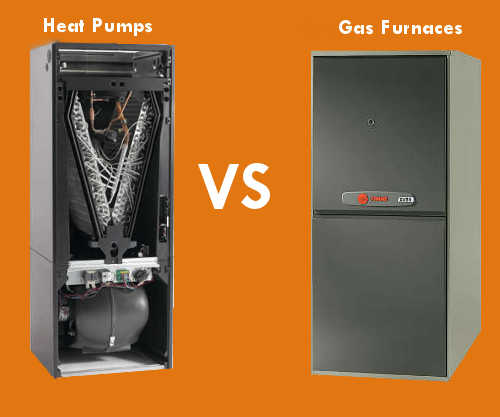 furnace vs heat-pump