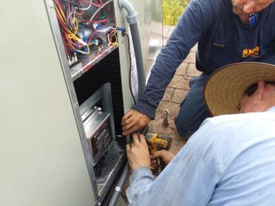 air scrubber install